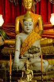White buddha image smile Stock Image