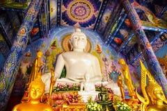 White Buddha image Stock Photo