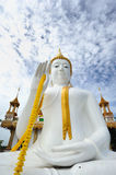 White Buddha public Royalty Free Stock Photos
