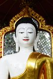 White Buddha Statue Royalty Free Stock Photos