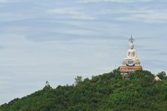 White Buddha statue Stock Images