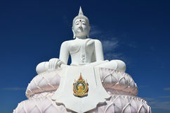 White buddha statue Stock Image
