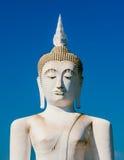 White buddha statue Royalty Free Stock Photos
