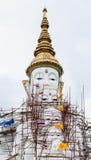 The white buddha statue Stock Photo