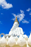 White Buddha Statue at Phasornkaew Temple Stock Images