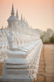 White Buddha statue Stock Photos