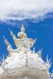 White buddha status Stock Images