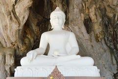 White Buddha Royalty Free Stock Photos