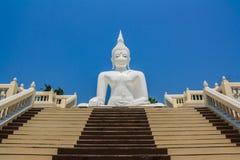 White Buddha Royalty Free Stock Images