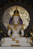 White Buddha at Wat Phra That Doi Kham Chiang Mai,Thailand. Stock Photos