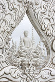 White Buddha. At Wat Rongkhun temple, Chiangrai province, Thailand Royalty Free Stock Photos