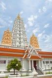 White buddhagaya pagoda Stock Image
