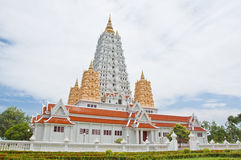 White buddhagaya pagoda Royalty Free Stock Photography