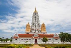White buddhagaya pagoda Stock Photography