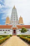 White buddhagaya pagoda Royalty Free Stock Images