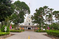 White buddhagaya pagoda, Thailand Royalty Free Stock Photography