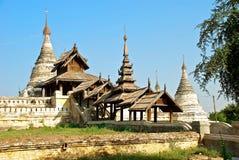 White Buddhist temple Stock Photo