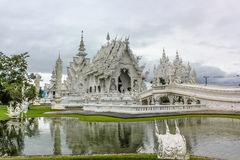 White Buddhist temple Royalty Free Stock Photos