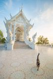 White Buddhist temple Stock Photography