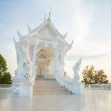 White Buddhist temple Royalty Free Stock Photo
