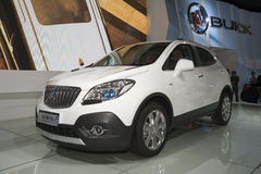 White buick encore car Royalty Free Stock Photo