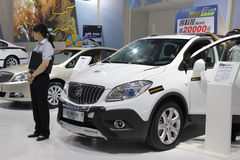 White buick encore car Royalty Free Stock Photography