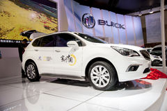 White buick envision car Royalty Free Stock Photo