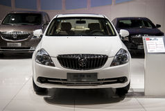White buick new excelle car Stock Images