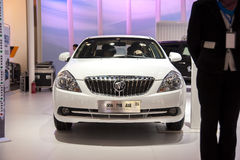 White buick New Excelle car Stock Photo