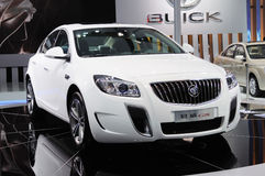 WHITE BUICK Regal GS Stock Photos