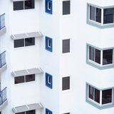 White Building Abstract Royalty Free Stock Images