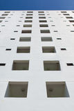 White building on blue sky Stock Photography