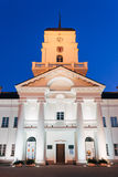 White Building Old City Hall In Minsk, Belarus Royalty Free Stock Photos