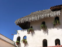 White building. A building at Puerto Vallarta in Mexico Royalty Free Stock Photography