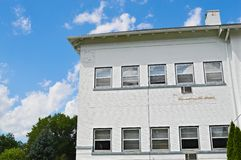 White Building with Windows Stock Images