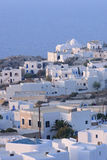 White buildings in Greece Royalty Free Stock Image