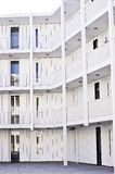 The white builing. Royalty Free Stock Images