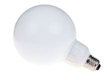 White bulb Stock Images