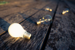 White Bulb Stock Photography
