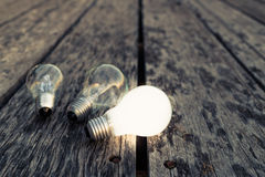 White Bulb Royalty Free Stock Images