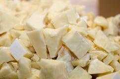 White bulk glucose. Close up of white bulk glucose royalty free stock photo