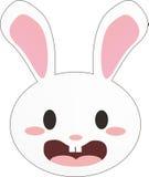 White bunny Royalty Free Stock Photo