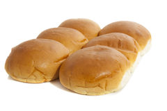 White buns Stock Images