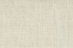 White burlap background Stock Photo