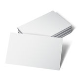 White Business Card Stock Images