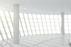White business center hall Stock Image
