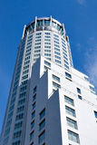 White business tower Stock Photography