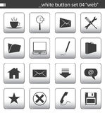 White button set 04. You can find others icon sets in my portfolio royalty free illustration