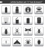 White button set 11. You can find others icon sets in my portfolio stock illustration