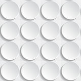 White buttons. Abstract seamless white background with buttons, eps10 vector illustration